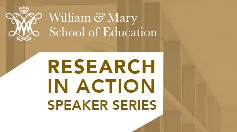 The series brings together students, faculty and practitioners to discuss new ideas in education.